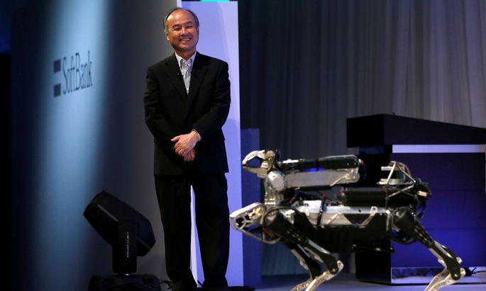 Automatisierung und Roboter werden die Welt grundlegend verändern, ist Masayoshi Son überzeugt. Er will dabei eine gewichtige Rolle spielen.