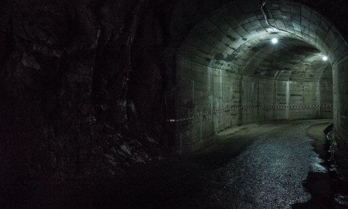 Symbolbild Tunnel.