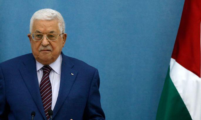 Mahmoud Abbas, Palästinenserführer