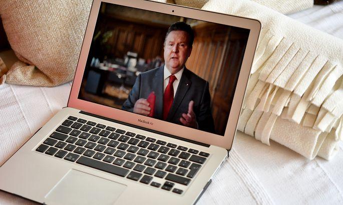 Die SPÖ feierte den 1. Mai heuer virtuell.