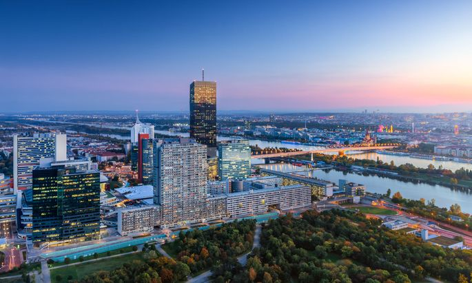 Blick auf Wien