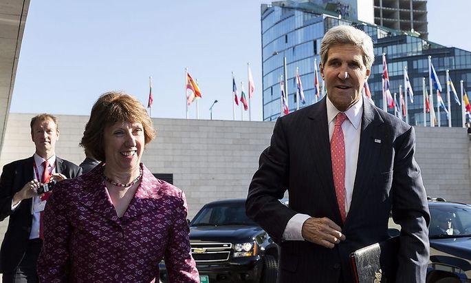 Kerry startet Gespräche mit EU-Außenministern über Syrien