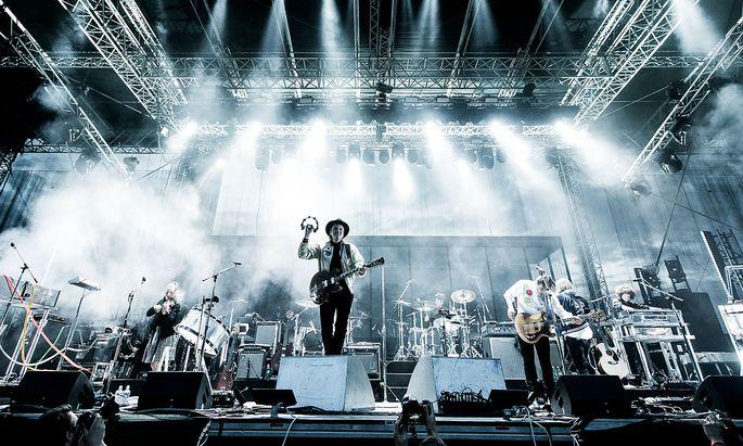 Arcade Fire in Linz