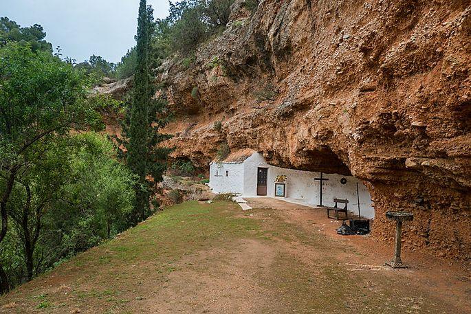 Höhlenkirche in Didyma in der Argolis auf der Peloponnes.