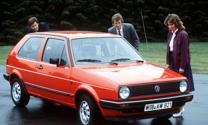 Da schaust: Golf GL, 1983. Zwei Jahre später war das Auto als eines der ersten bei uns mit Katalysator zu haben.