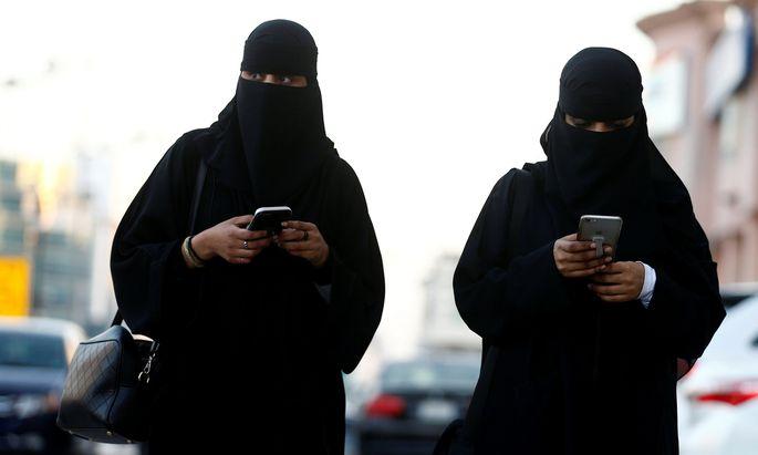 Frauen in Spitzenpositionen sind in Saudi Arabien sehr selten.