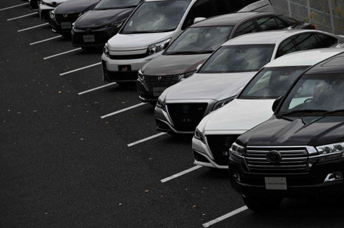 Autos des weltweit größten Autobauers Toyota.
