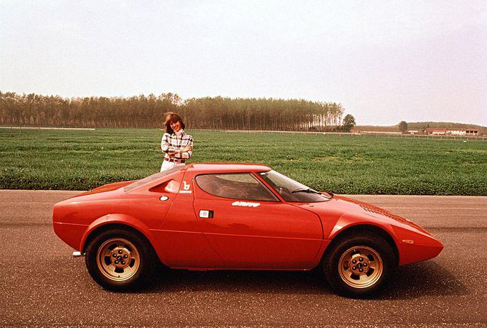 1973: Unvergleichlicher Lancia Stratos – gebaut, um in der Rallye-WM alles zu bügeln. Auch Karajan hatte einen.