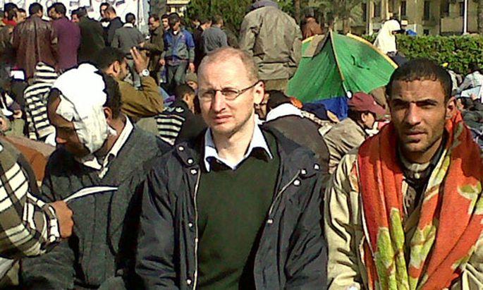 Bericht Kairo Demonstranten sammeln