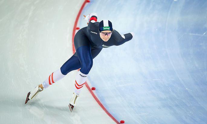 Vanessa Herzog bereitete sich mit ihrem niederländischen Profi-Team auf die nächsten intensiven Wochen vor.