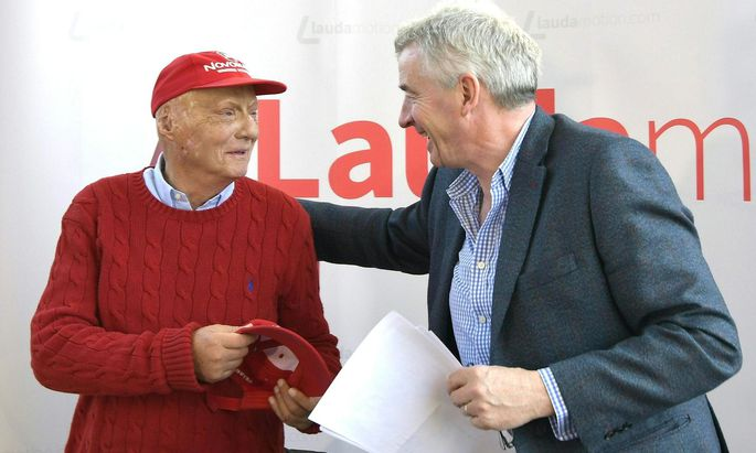 Ryanair-Chef Michael O'Leary übernimmt Niki Laudas Airline zur Gänze