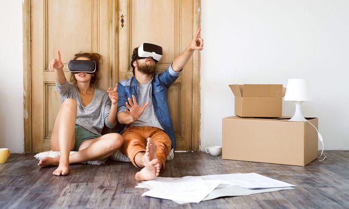 Die Immobilienbranche hat die Corona-bedingte Kontaktbeschränkung zur Tugend gemacht, zahlreiche Bauträger und Makler bieten dieser Tage virtuelle 360-Grad-Touren an (Symolbild).