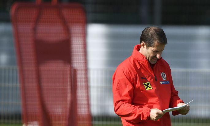 Will den Weg an die Restplatzbörse vermeiden: ÖFB-Teamchef Franco Foda.