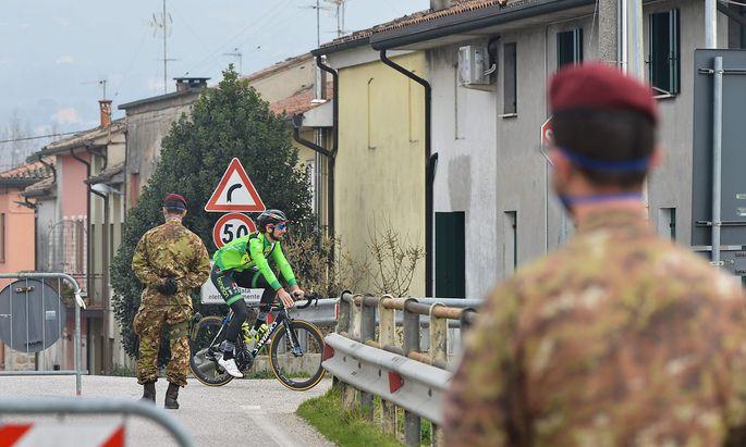 Vo' war eines der ersten beiden Dörfer, die in Italien komplett abgeriegelt wurden.