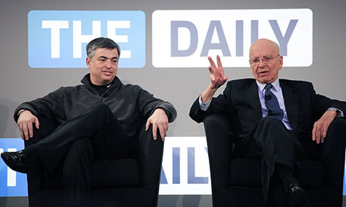 Daily Murdoch startet iPadZeitung