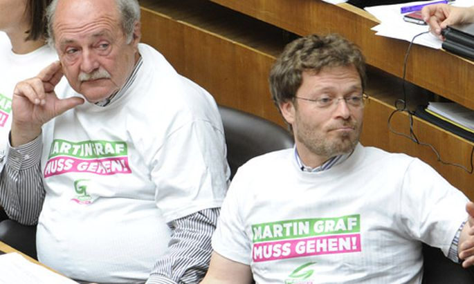 Graf: Grüne scheitern mit Antrag auf Abwahlmöglichkeit