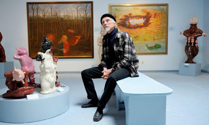 Der Künstler Arik Brauer erhält als Erster den neuen Fritz-Csoklich-Demokratiepreis.