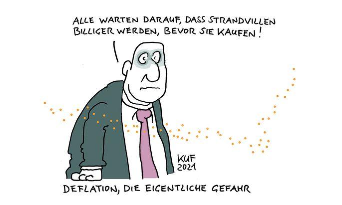 Deflation - die eigentliche Gefahr.