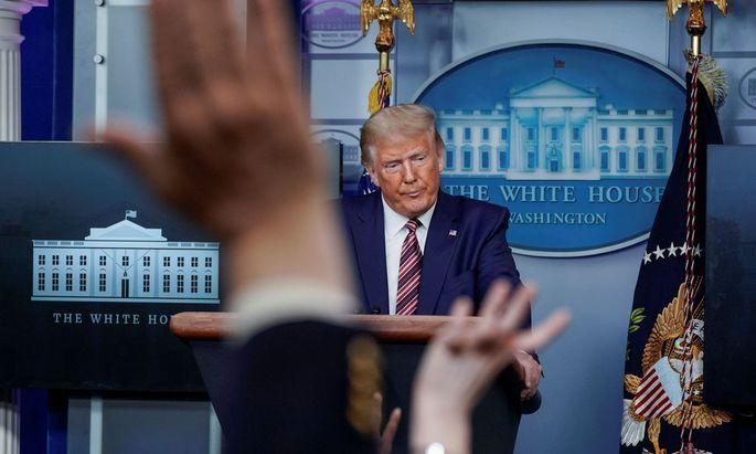 Donald Trump soll im Wahljahr 2016 nur 750 Dollar Einkommensteuer gezahlt haben