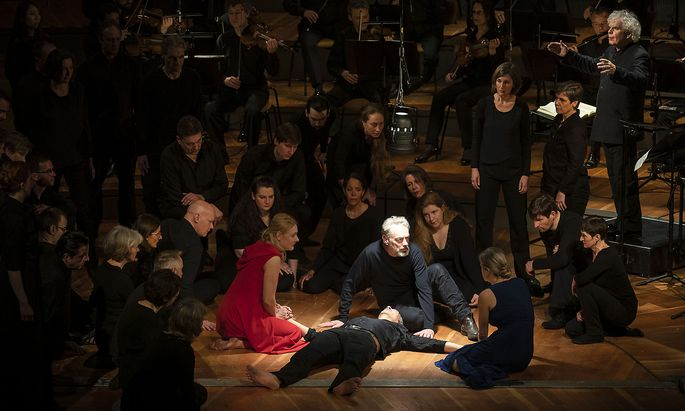 Berliner Philharmoniker 14.3.2019 in Berlin / Johannes Passion