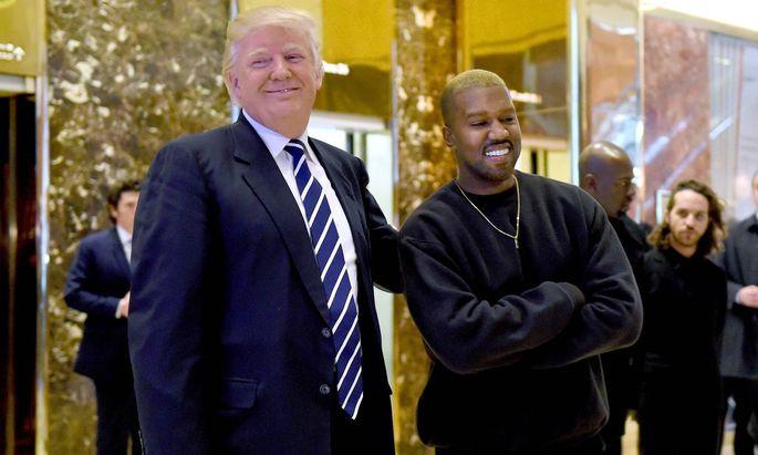 Kanye West galt bis zum Vorjahr als Prominenter Anhänger Trumps.