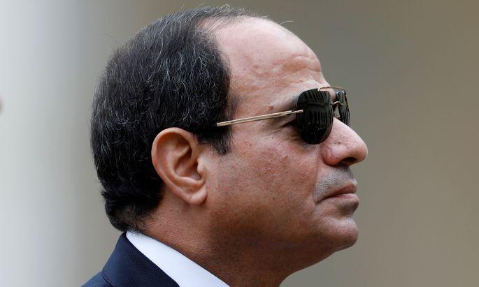 Machthaber Abdel Fattah al-Sisi.