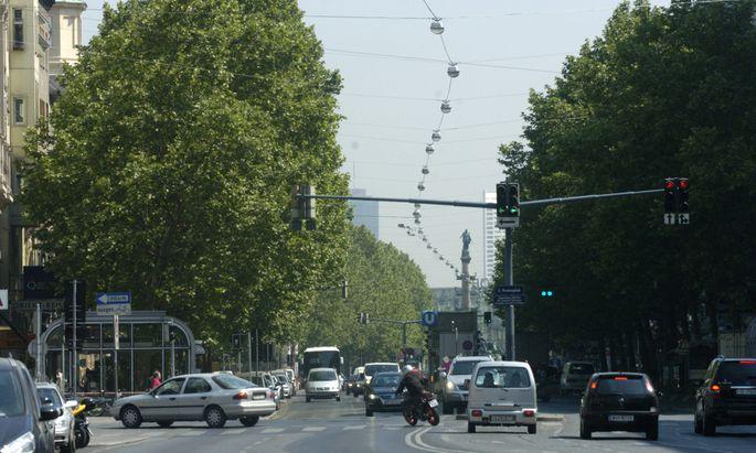 Symbolbild Praterstraße.
