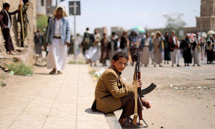 Die Gewalt ist im Jemen endemisch.ura