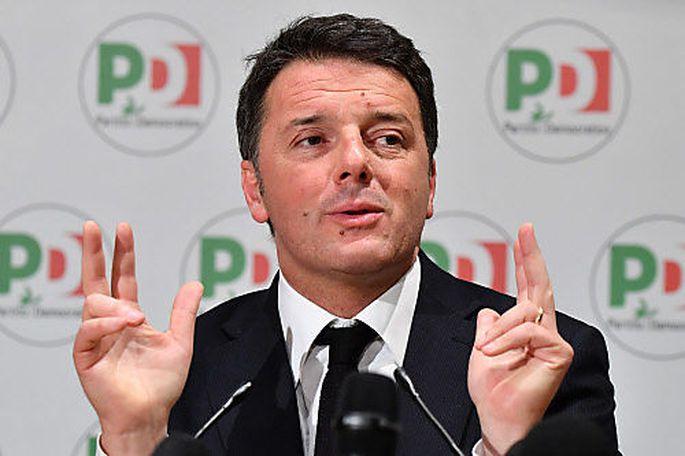 """""""Keine Wehmut, kein Groll"""": der scheidende PD-Chef Matteo Renzi."""
