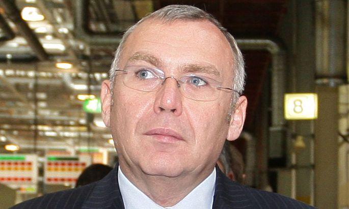 Überraschender Sieger: Alfred Gusenbauer.