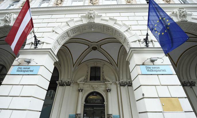 Laut ÖVP wurden interne Daten aus dem Computernetzwerk gestohlen.