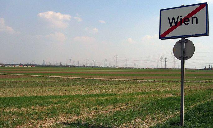 Pläne für den äußersten Süden Wiens.
