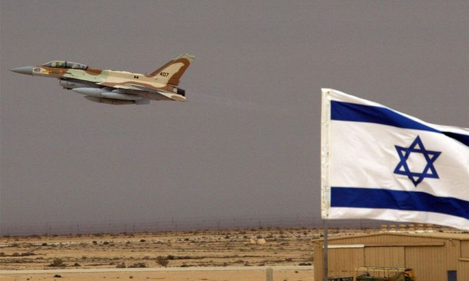 Israelische F-16l.