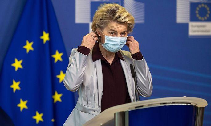 EU-Kommissionspräsidentin Urusla von der Leyen verkündete die frohe Botschaft: Moderna liefert 160 Millionen Impfdosen in die EU.