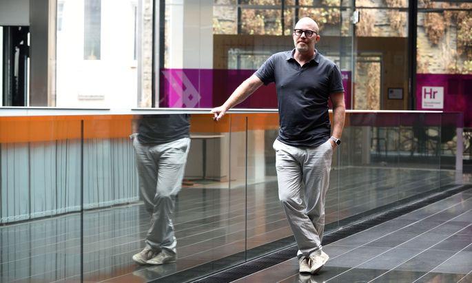 """""""Mittlerweile kommen 20 Prozent der Firmen, die wir unterstützen, aus dem Gesundheits- bereich"""", sagt Oliver Holle, Chef von Speedinvest."""