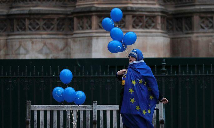Brexit-Gegner hoffen vor allem auf ein zweites Referendum.