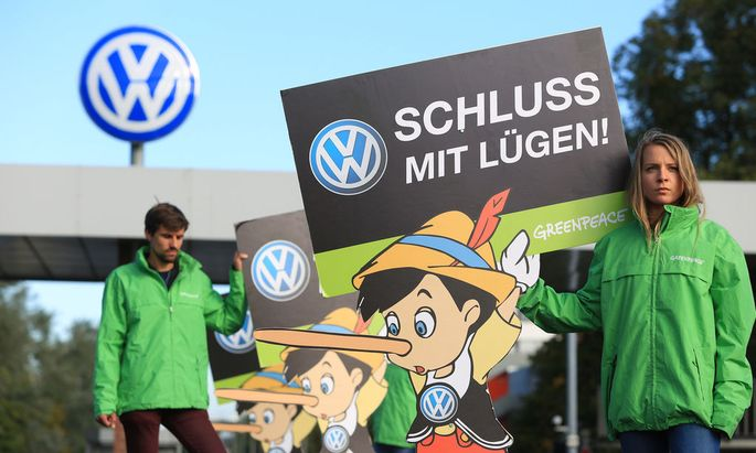 Watching Developments At Volkswagen AG's Headquarters As New Chief Executive Officer Expected To Be Named
