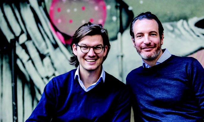 Valentin Stalf und Maximilian Tayental haben N26 gegründet