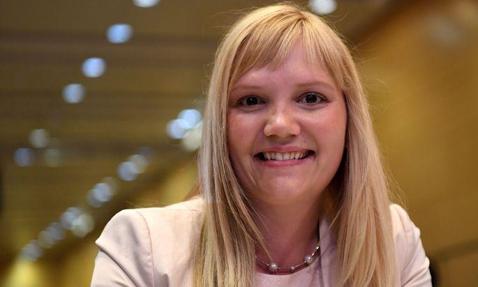 Newcomerin Elisabeth Feichtinger.