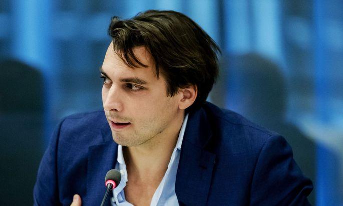 Die rechtspopulistische Partei Forum für Demokratie (FvD) des Senkrechtstarters Thierry Baudet ist zweitstärkste Partei