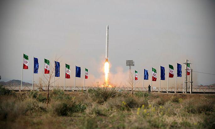 Der Start des Rakete mit dem Satelliten bringt weitere Unruhe in die Region.