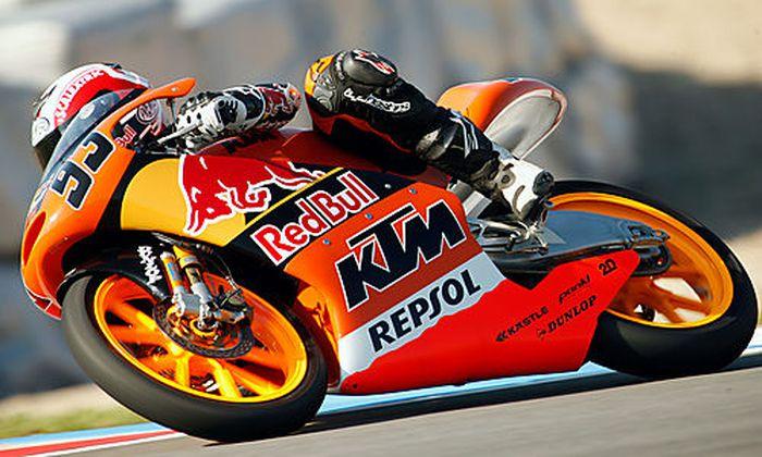 Marc Marquez auf KTM