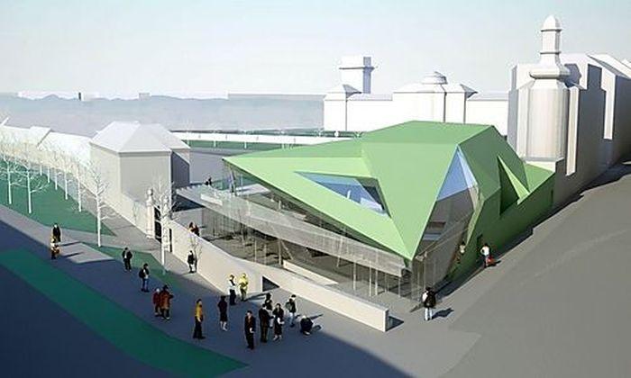 So soll der Konzertsaal für die Wiener Sängerknaben aussehn.