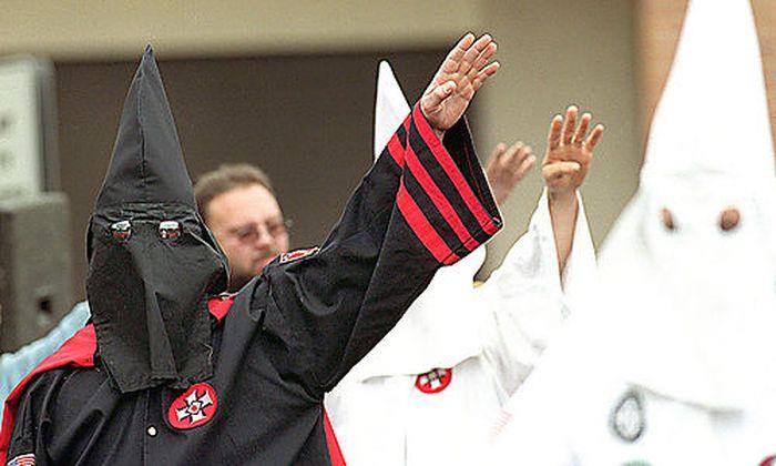Archivbild: Ku Klux Klan