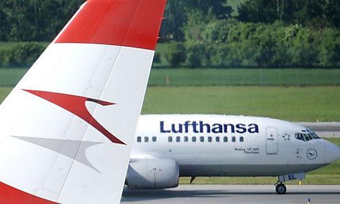 AUA Lufthansa