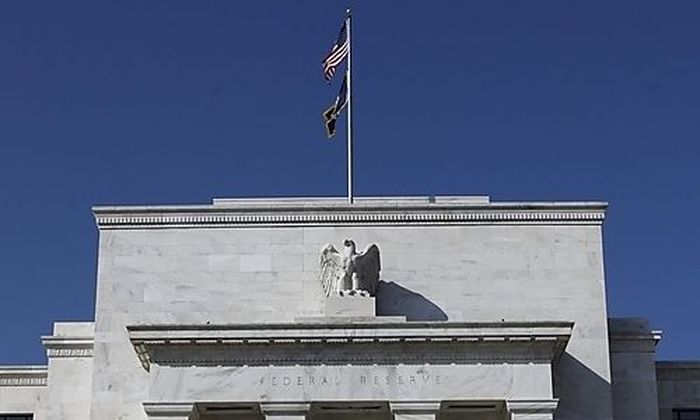 The Federal Reserve building is seen in Washington, Wednesday, March 18, 2009, after it announced tha