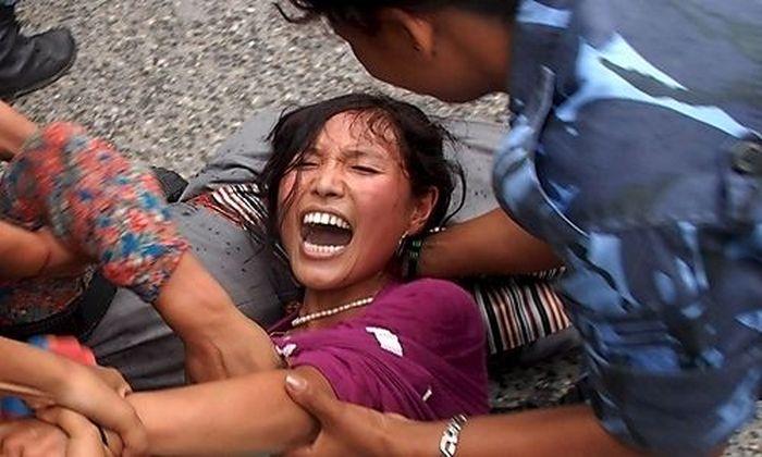 NEPAL TIBET PROTEST