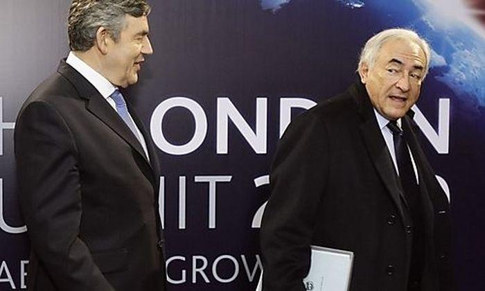 Gordon Brown, Dominique Strauss-Kahn