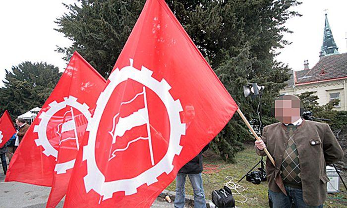 NVP-Aktivisten in Amstetten