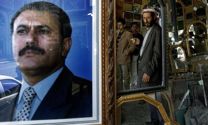 Ali Abdallah Saleh soll von einem Scharfschützen getötet worden sein.